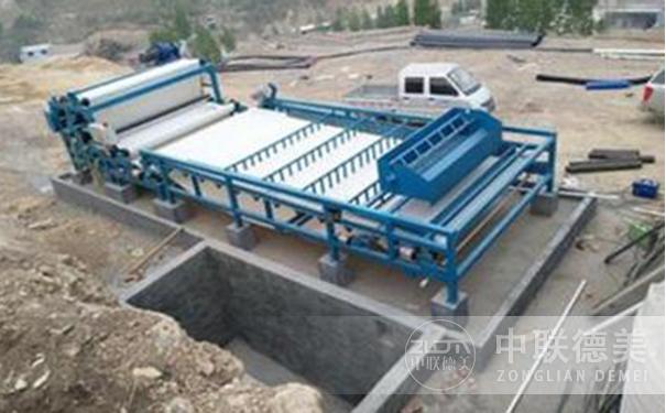 洗砂厂污泥脱水带式压滤机